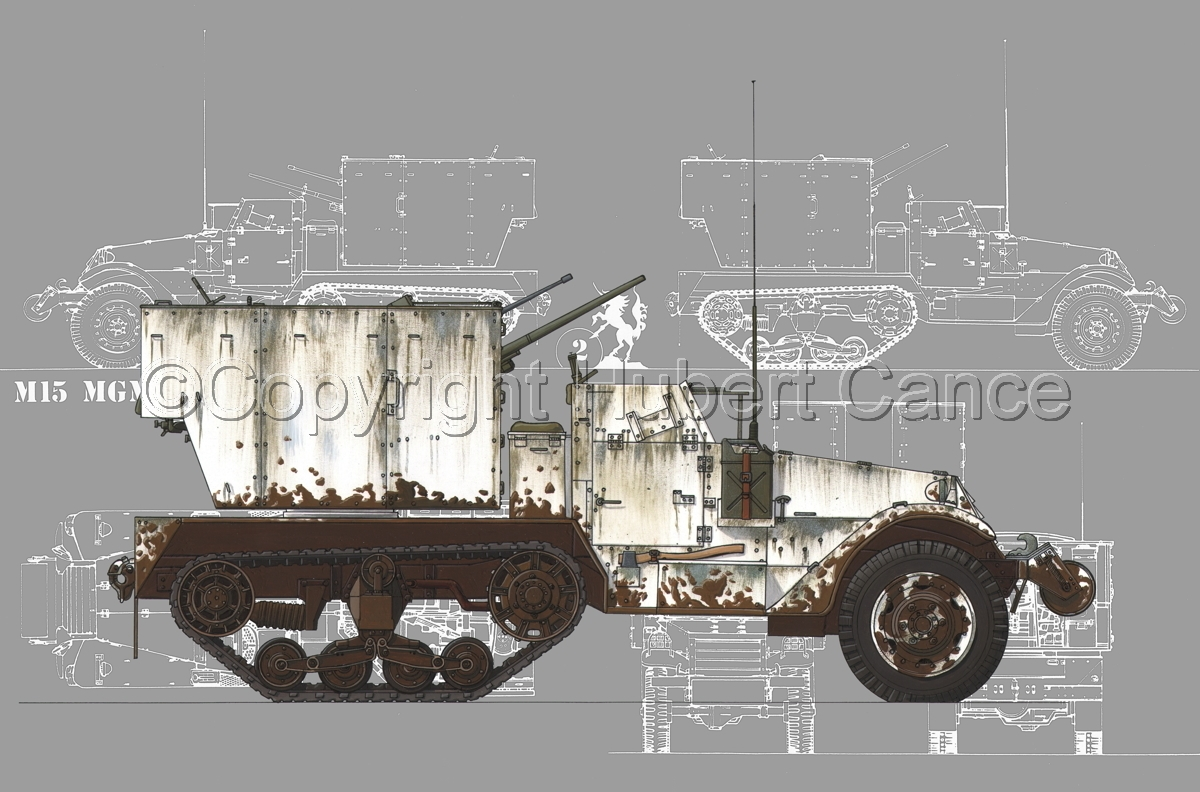 M15 MGMC Half-Track (Blueprint #4) (large view)