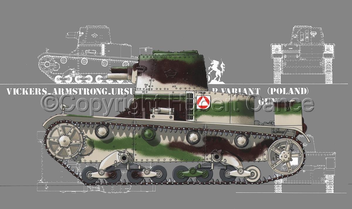 Vickers-Armstrong-Ursus VAU-33, B-Variant (Blueprint #4) (large view)