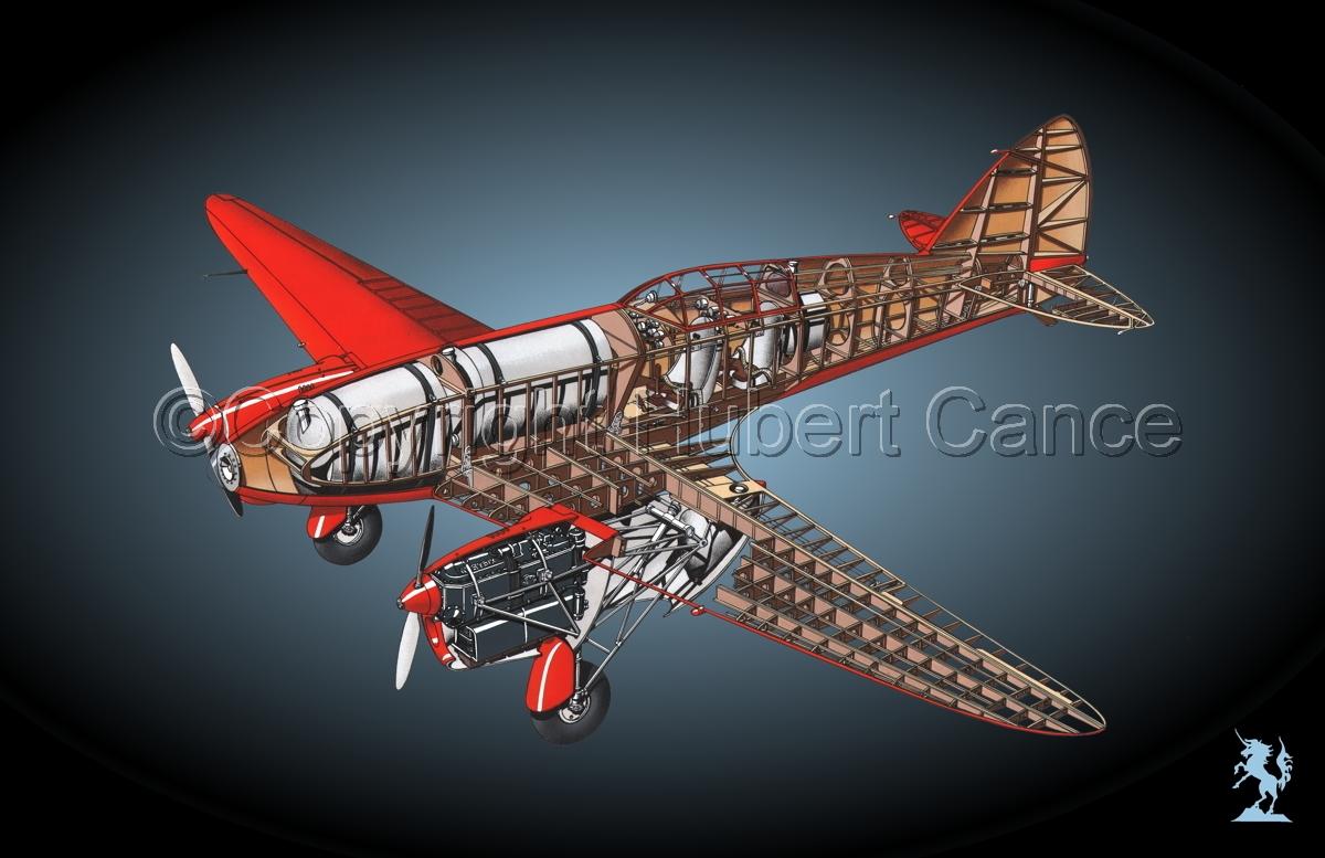 """De Havilland DH.88 """"Comet"""" Racer #1.5 (large view)"""