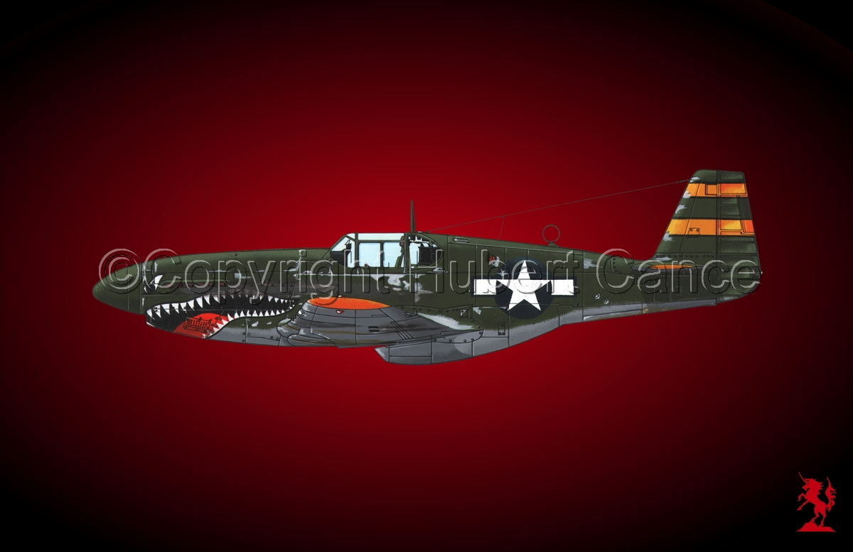 "North American P-51B ""Mustang"" #2.4 (large view)"