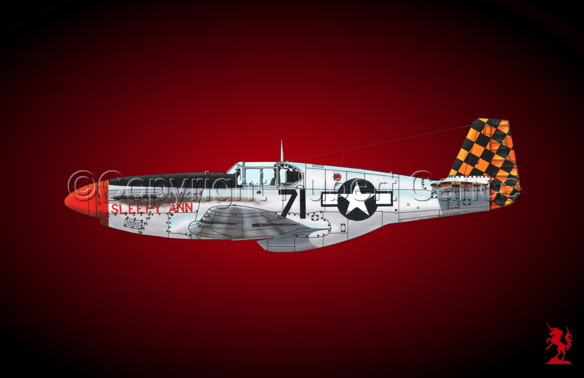 "North American P-51B ""Mustang"" #1.4 (large view)"