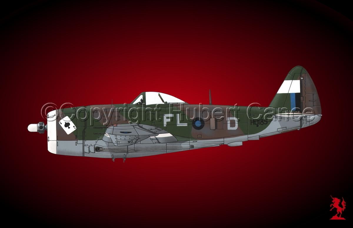 """Republic P-47D-30 """"Thunderbolt"""" #2.4 (large view)"""