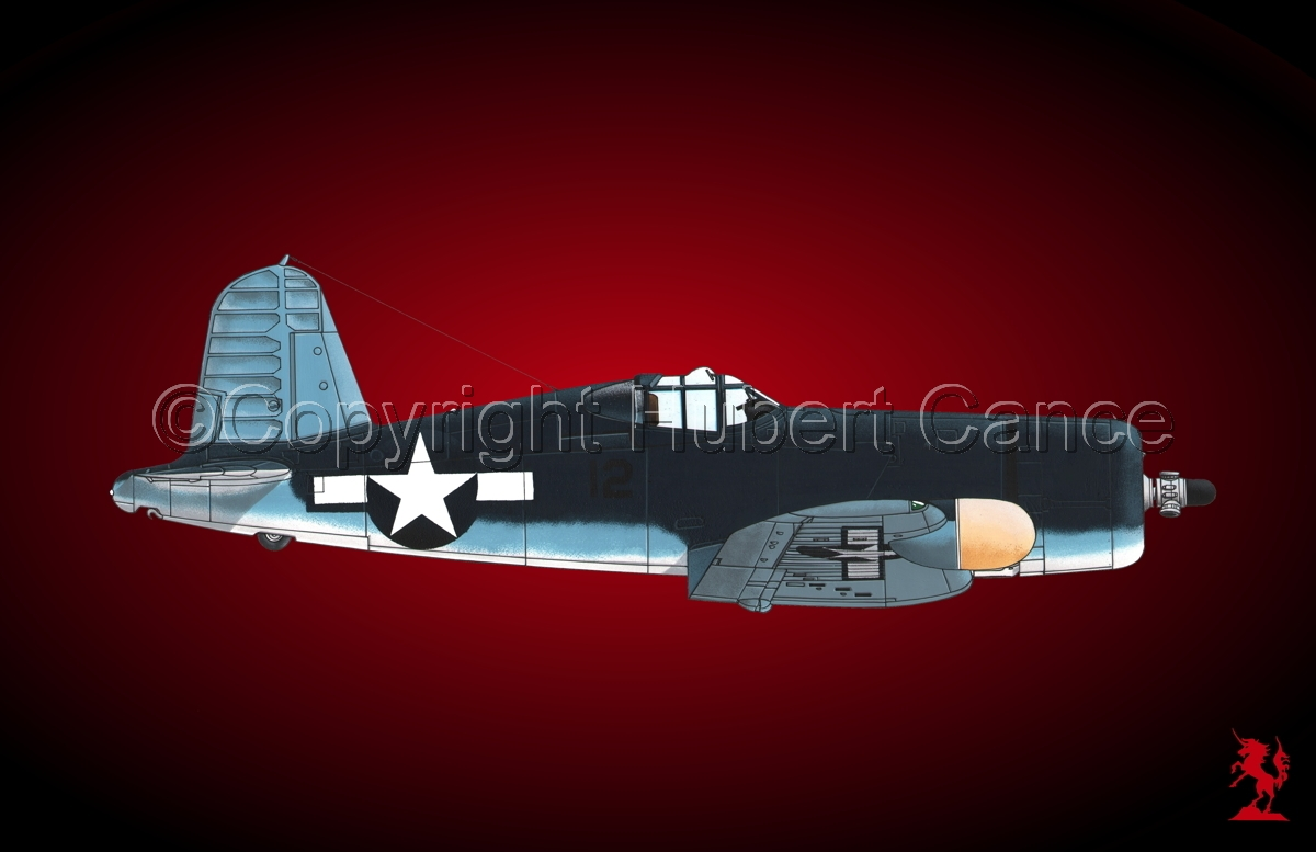 "Chance-Vought F4U-2 ""Corsair"" #4 (large view)"