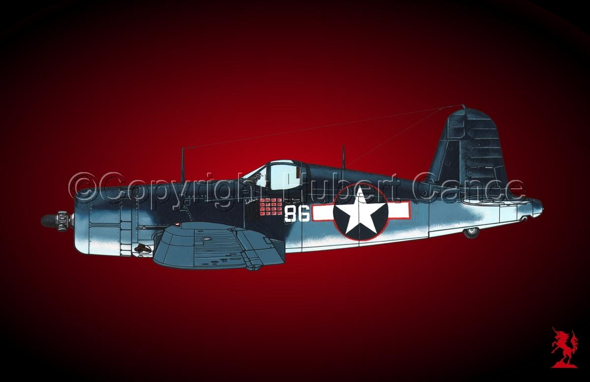 """Chance-Vought F4U-1A """"Corsair"""" #1.4 (large view)"""