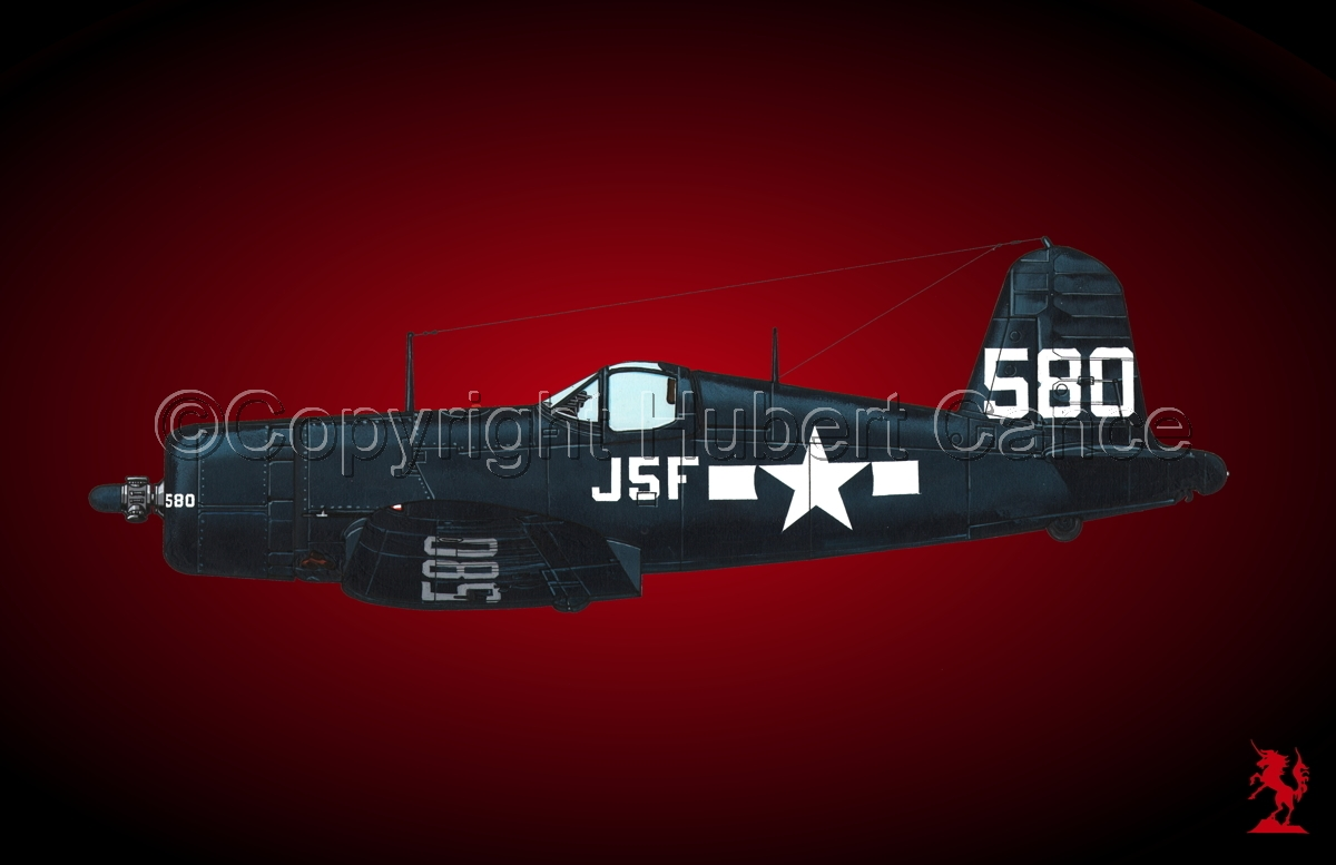 "Chance-Vought F4U-1A ""Corsair"" #2.4 (large view)"
