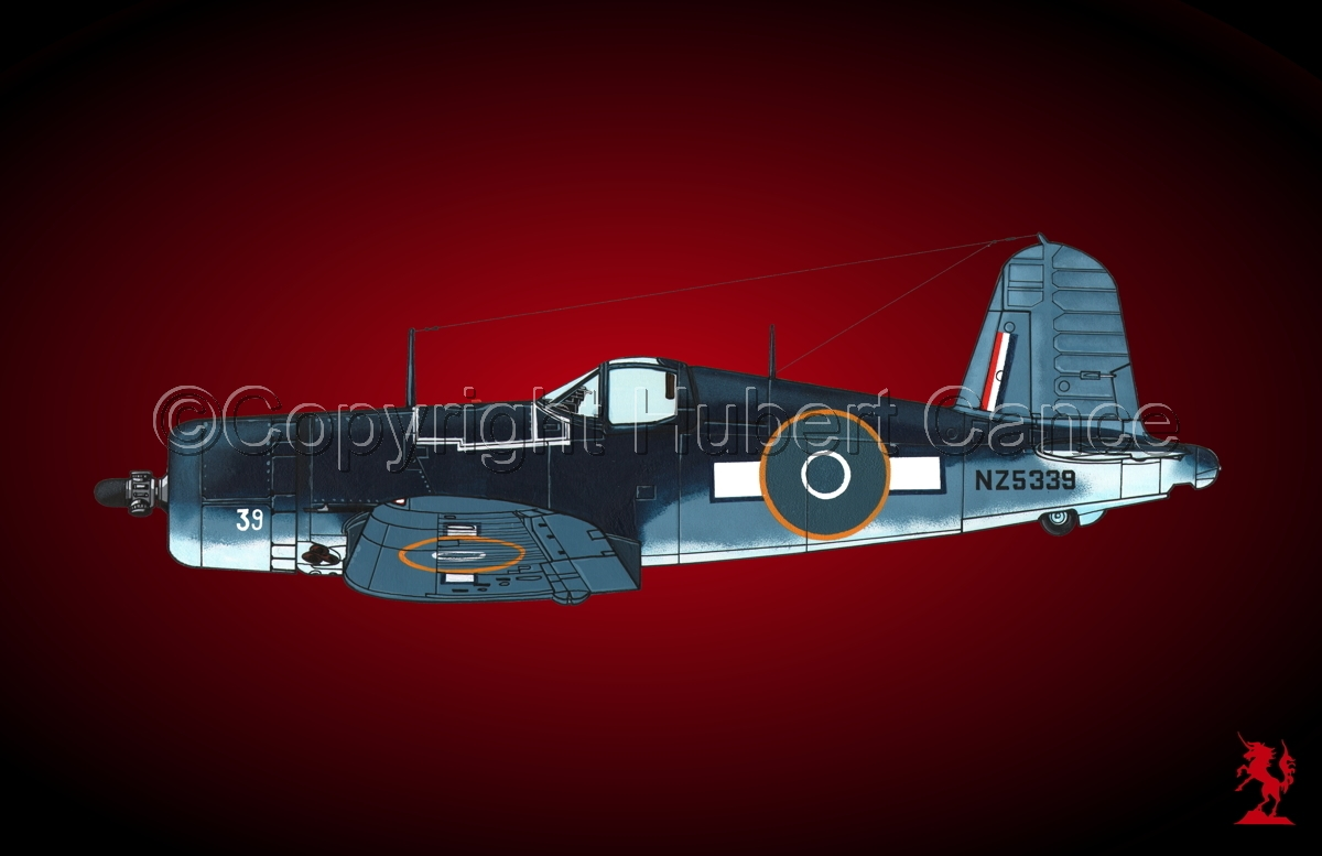 "Chance-Vought F4U-1A ""Corsair"" #3.4 (large view)"