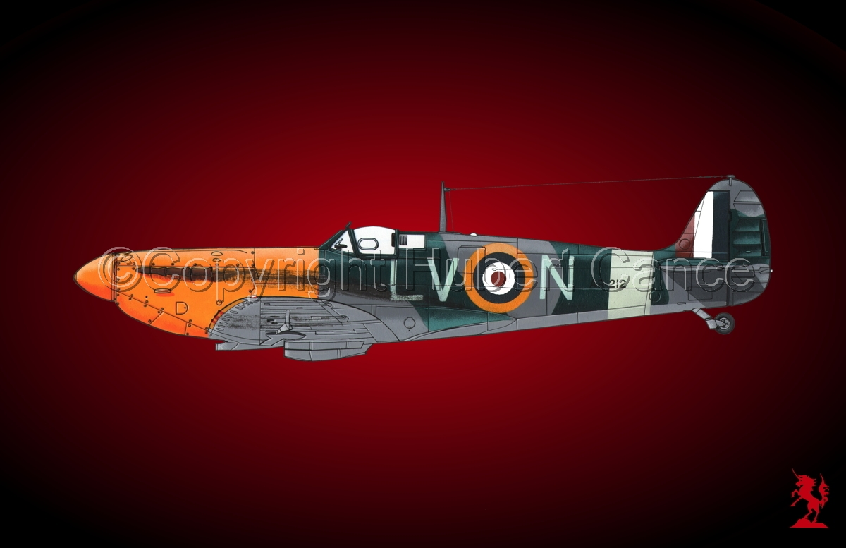 "Supermarine ""Spitfire"" Mk.Ia #1.4 (large view)"