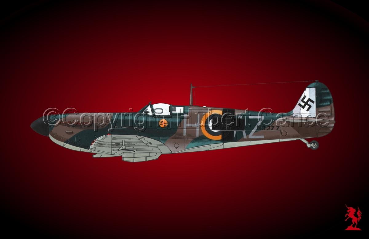 "Supermarine ""Spitfire"" Mk.Ia #4bis.4 (large view)"
