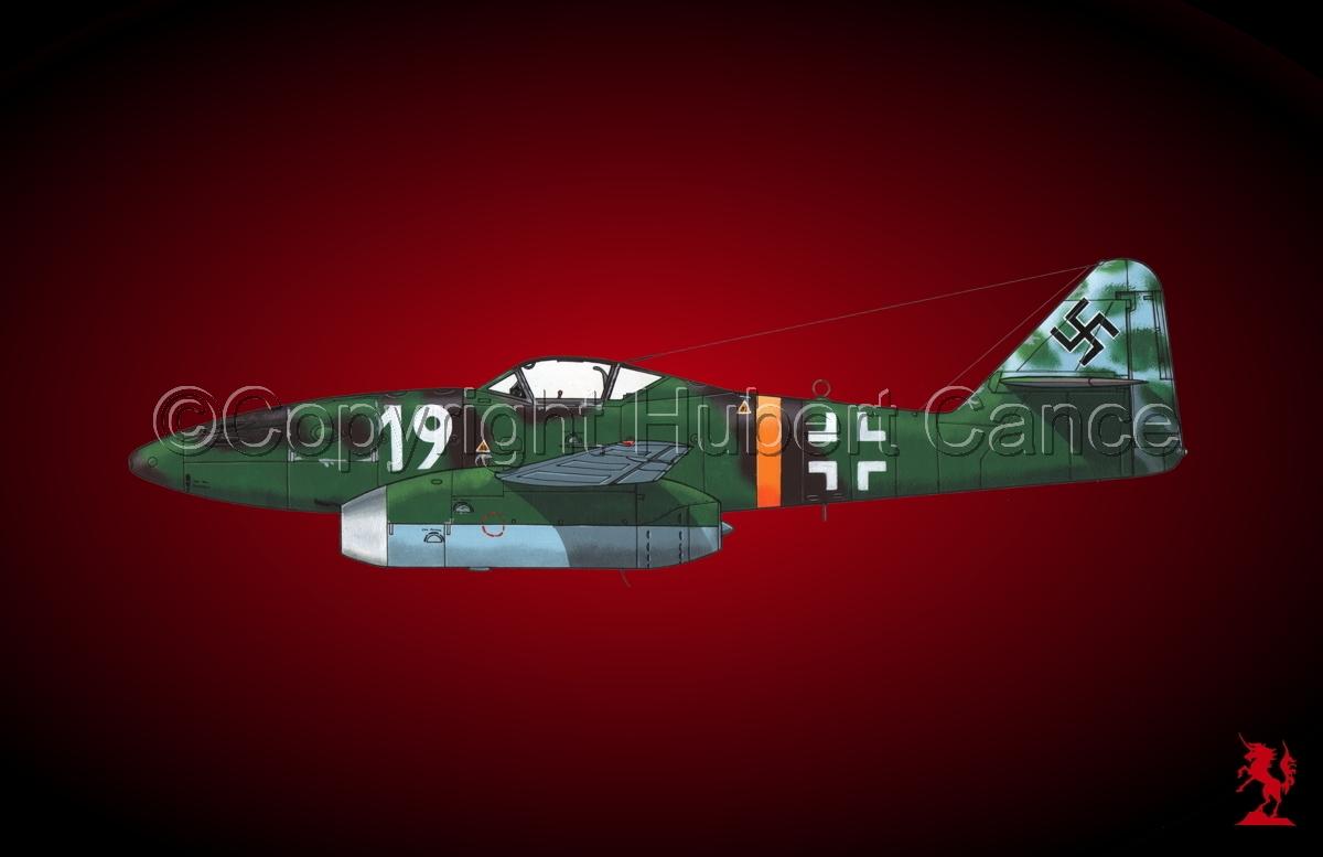 """Messerschmitt Me 262A-1a """"Schwalbe""""#1.4 (large view)"""