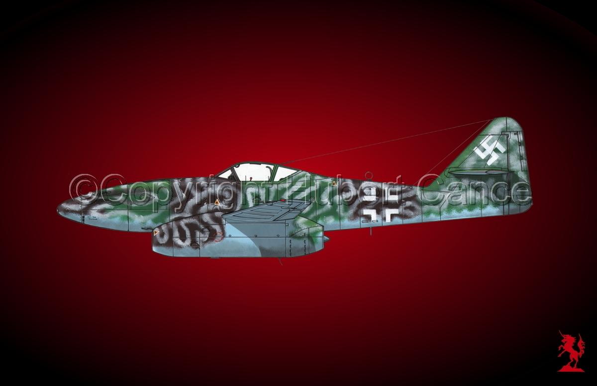 """Messerschmitt Me 262A-1a """"Schwalbe"""" #2.4 (large view)"""