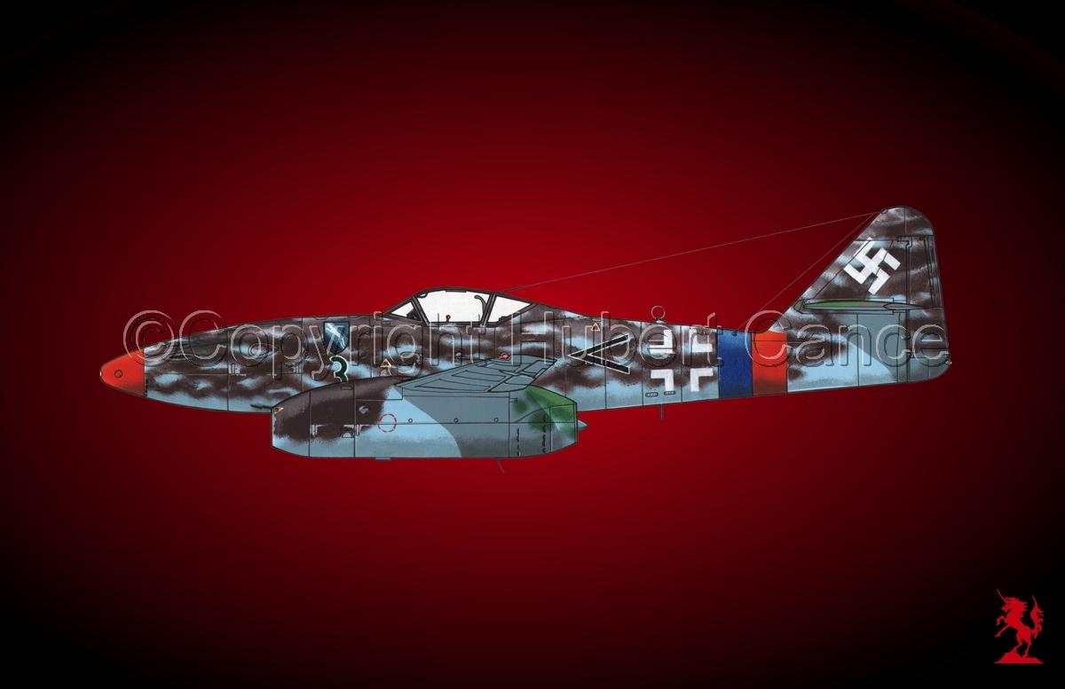"""Messerschmitt Me 262A-1a """"Schwalbe"""" #3.4 (large view)"""