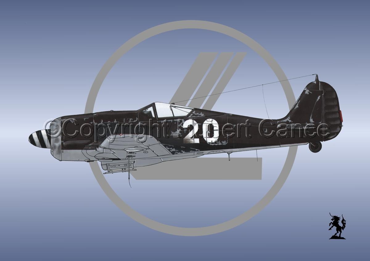 Focke-Wulf Fw 190A-8 (Logo #1) (large view)