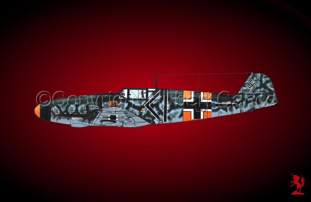 """Messerschmitt Bf 109F-2 """"Friedrich""""#1.4 (large view)"""