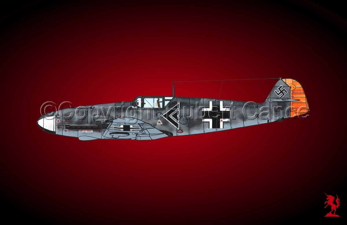 """Messerschmitt Bf 109F-2 """"Friedrich"""" #2.4 (large view)"""
