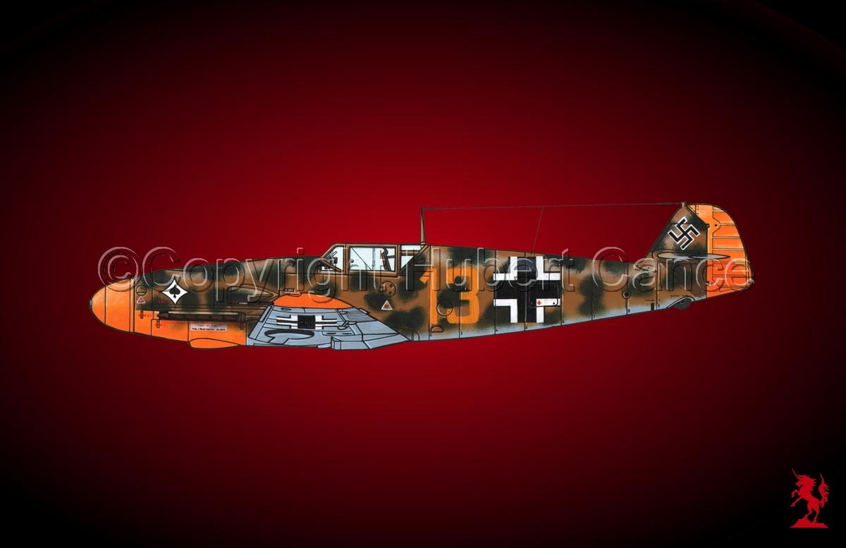 """Messerschmitt Bf 109F-2 """"Friedrich"""" #3.4 (large view)"""