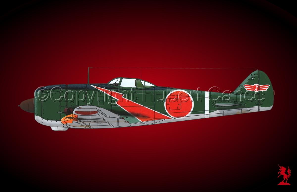 "Nakajima Ki.44-II Hei ""Shoki"" (Tojo) #2.4 (large view)"