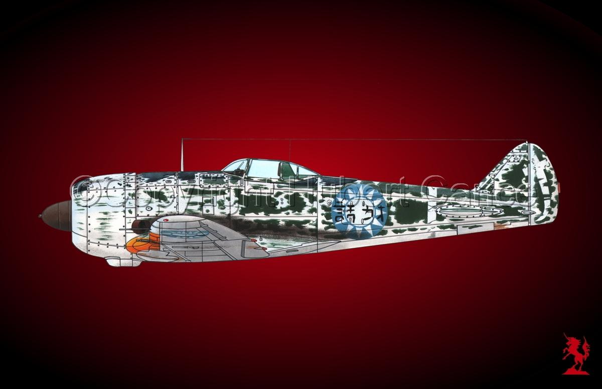 "Nakajima Ki.44-IIB ""Shoki"" (Tojo) #3.4 (large view)"