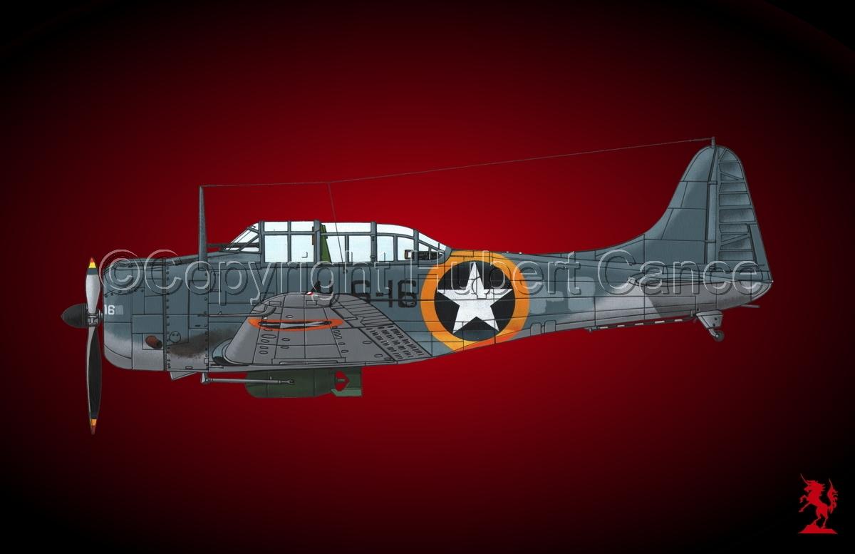 """Douglas SBD-3 """"Dauntless""""#1.4 (large view)"""