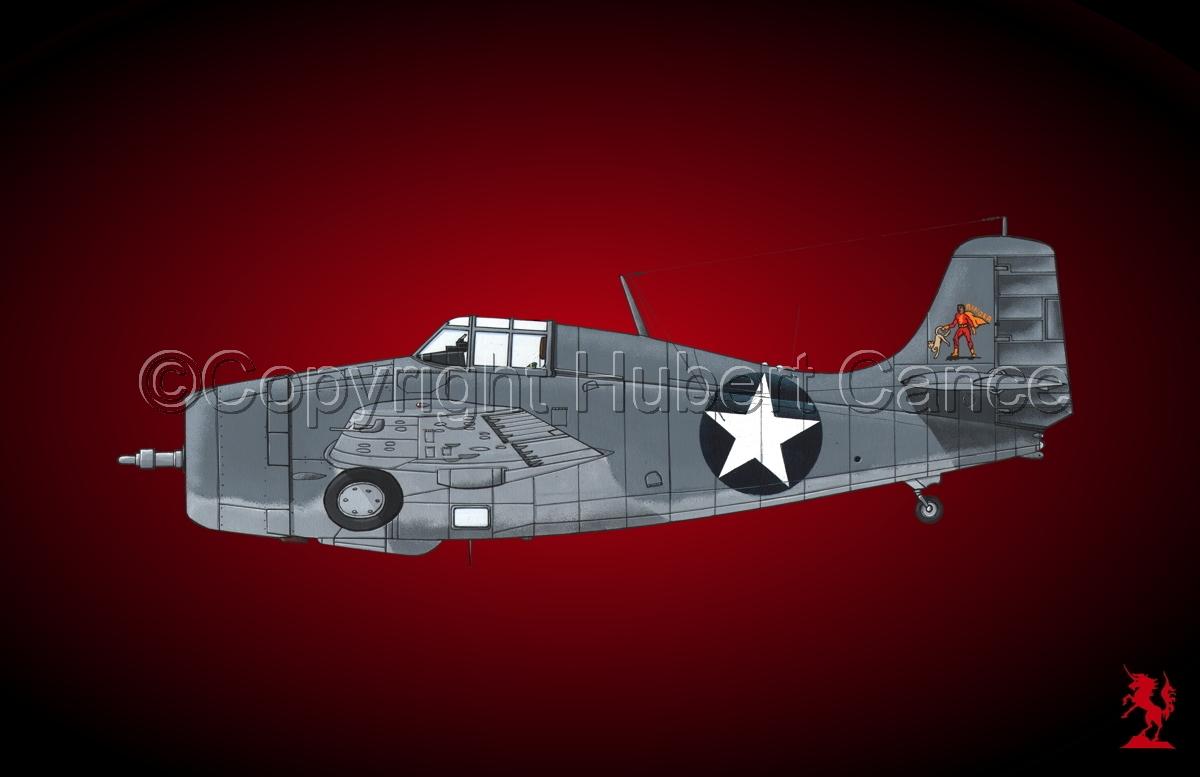 """Grumman F4F-4 """"Wildcat""""#1.4 (large view)"""
