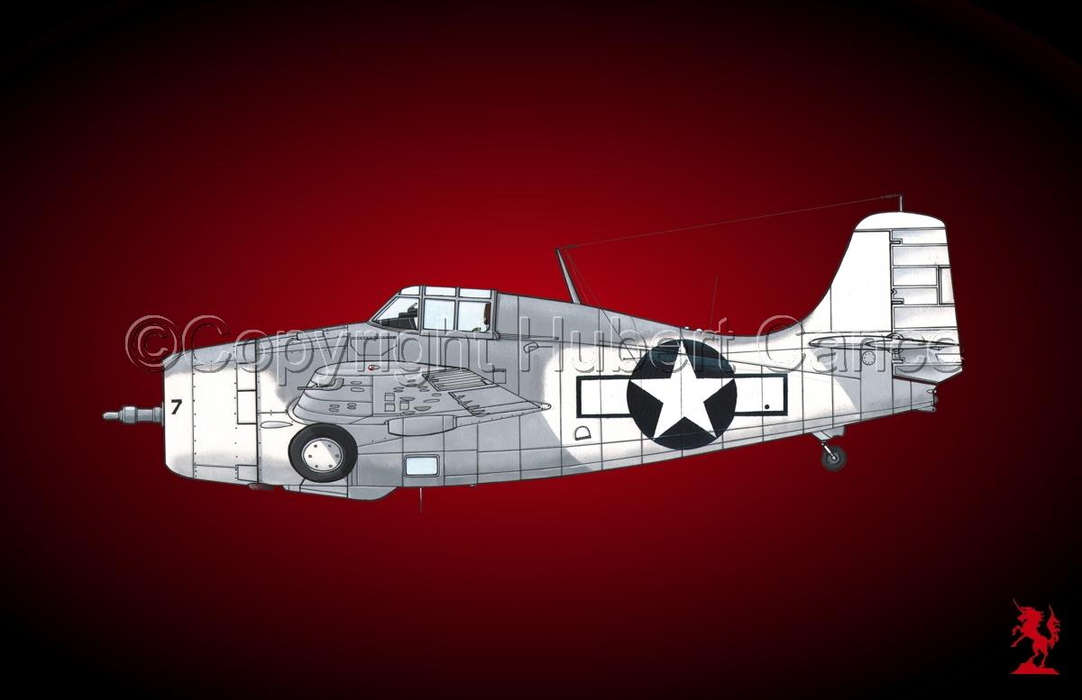 """Grumman F4F-4 """"Wildcat"""" #2.4 (large view)"""
