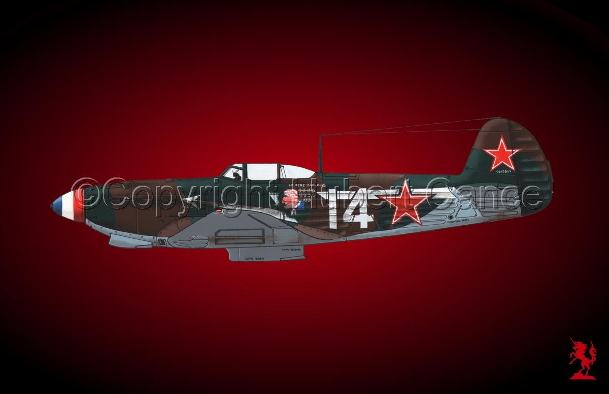 Yakovlev Yak-9D #1bis.4 (large view)