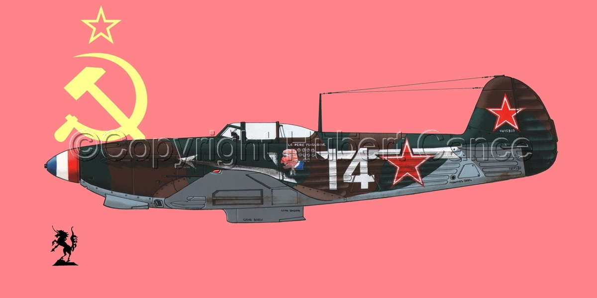 Yakovlev Yak-9D (Flag #1) (large view)