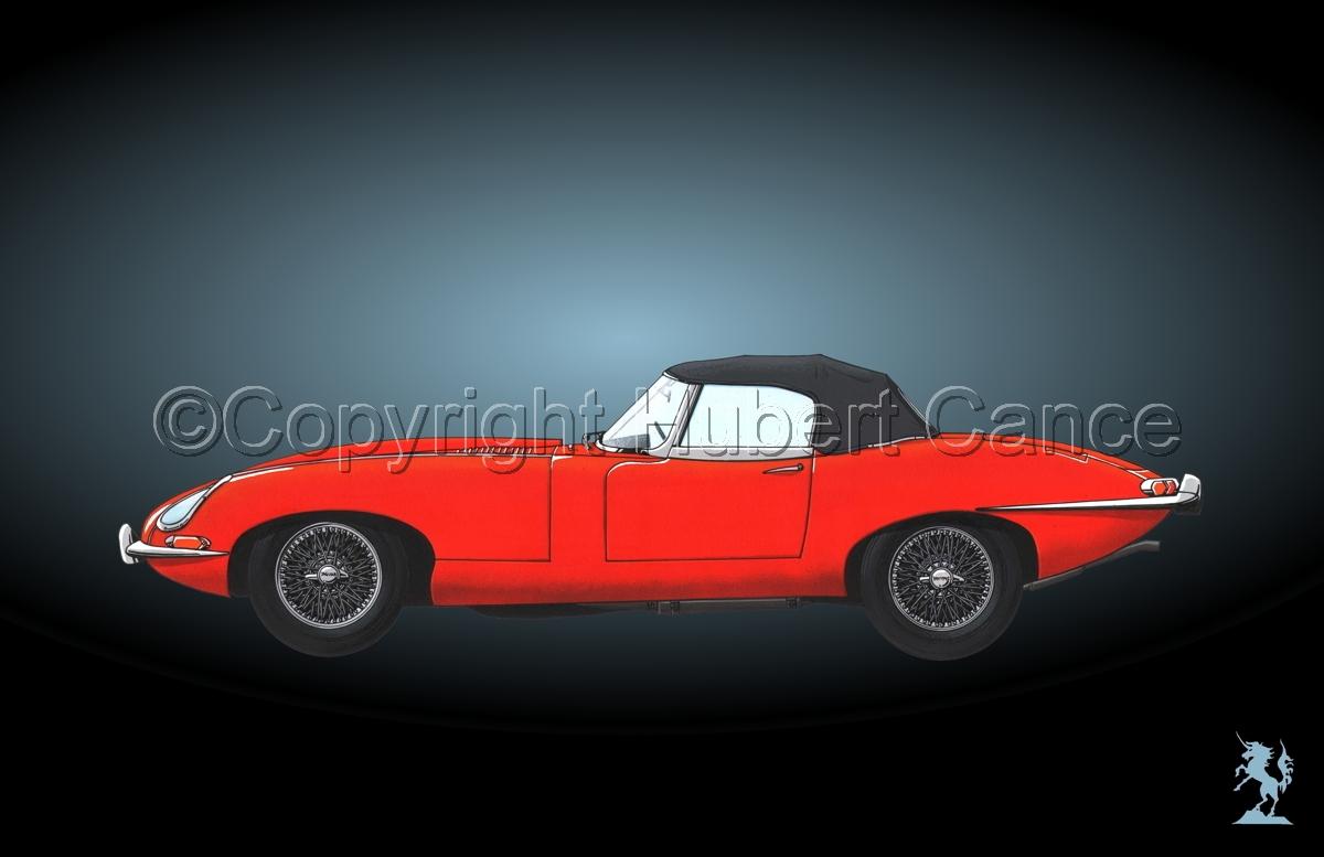 Jaguar Type E #1.4 (large view)
