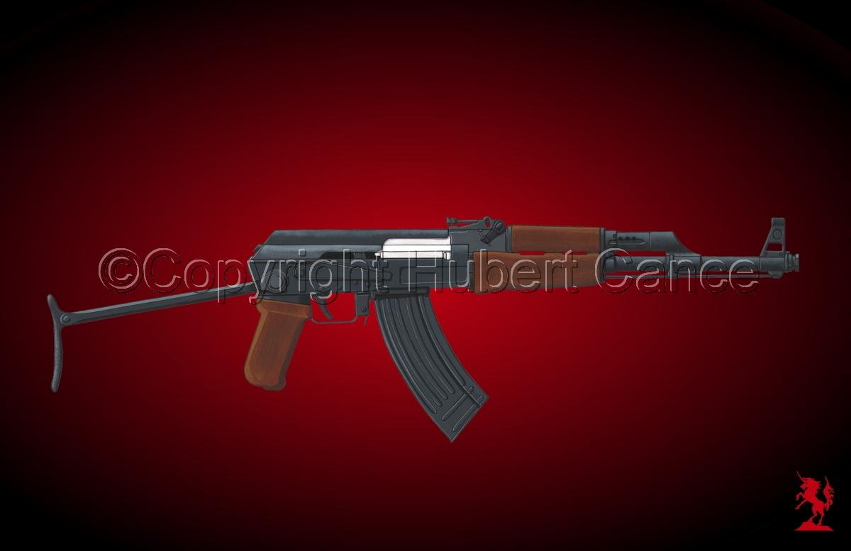 Kalashnikov AK-47 #4 (large view)