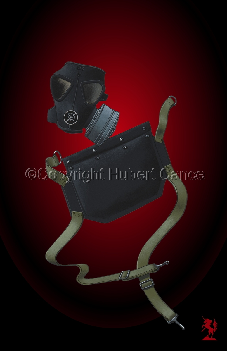 US M5 Amphibious Assault Gas Mask #4 (large view)
