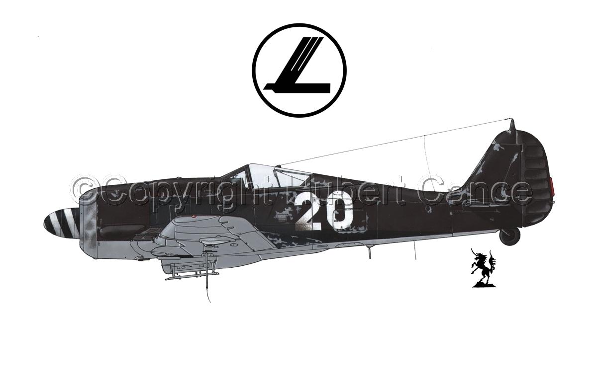 Focke-Wulf Fw 190A-8 (Logo #1.1) (large view)