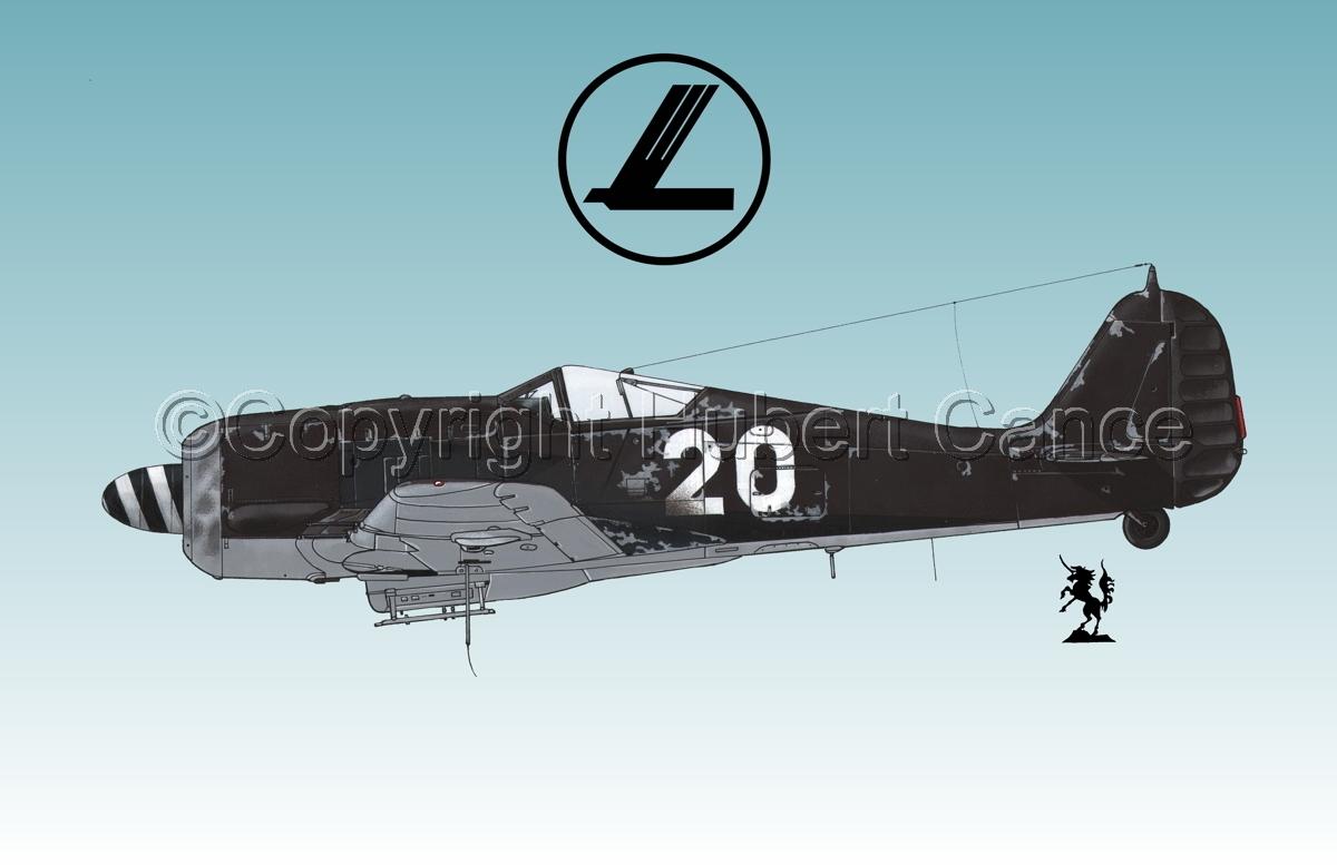 Focke-Wulf Fw 190A-8 (Logo #1.3) (large view)