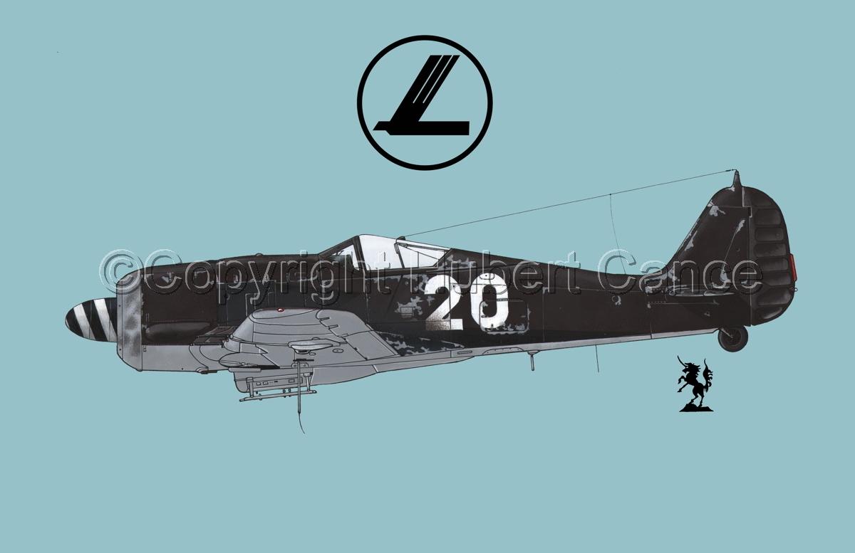 Focke-Wulf Fw 190A-8 (Logo #1.2) (large view)