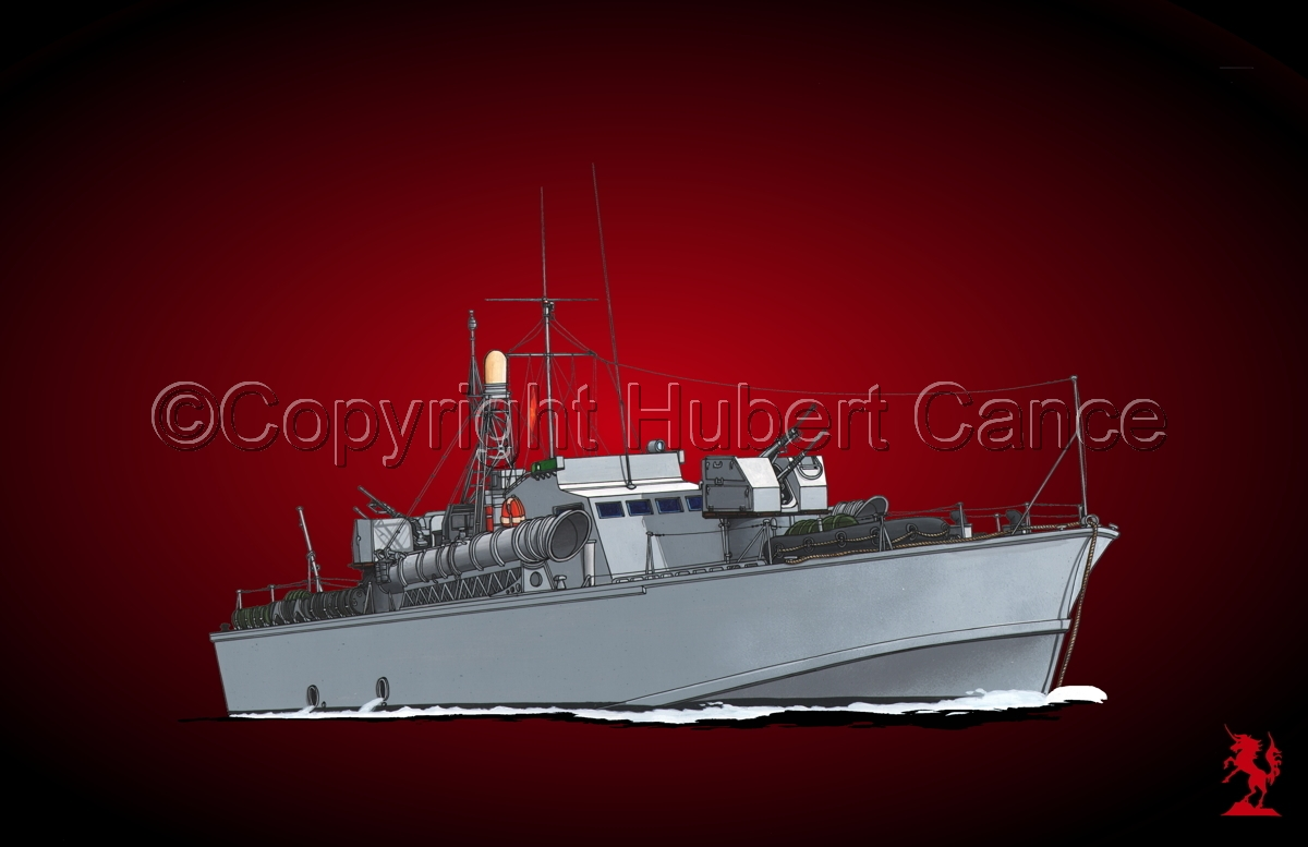 North Vietnamese P6 Torpedo Boat #5 (large view)