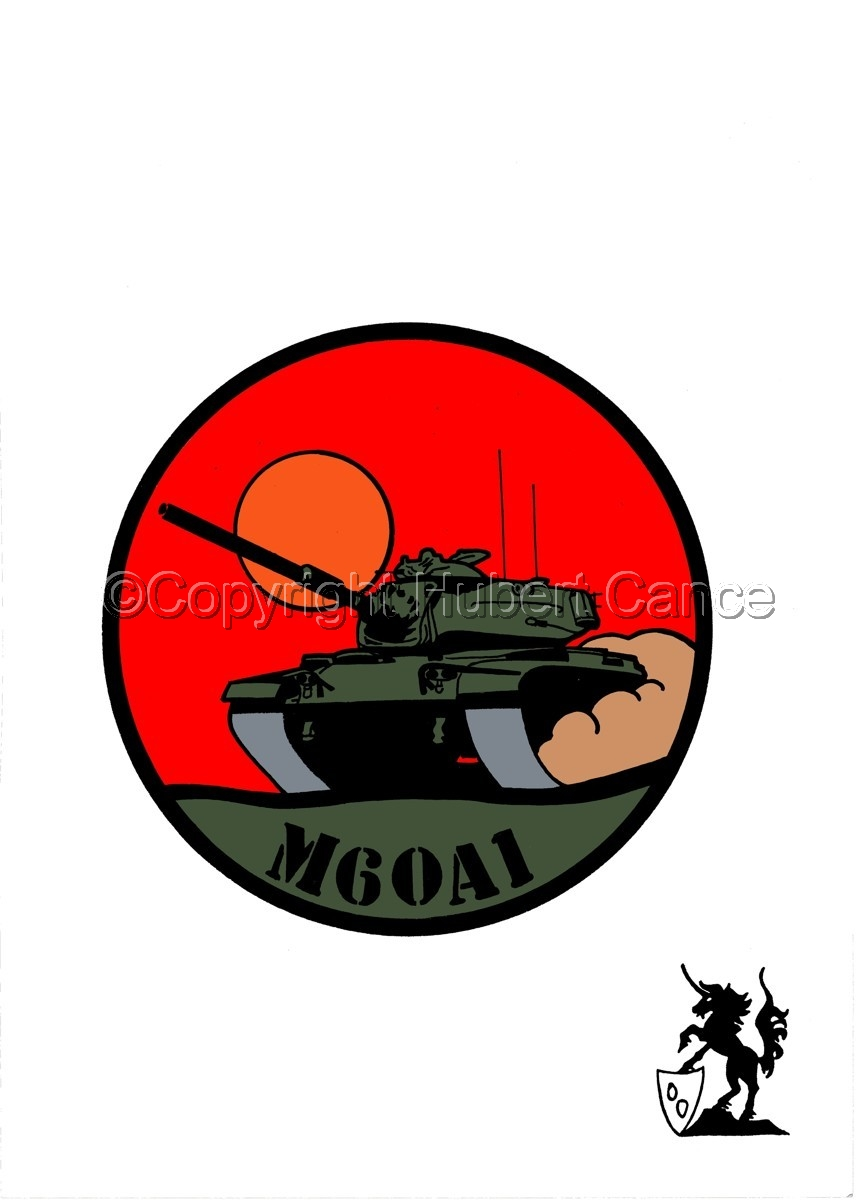Sticker: M60A1 (large view)