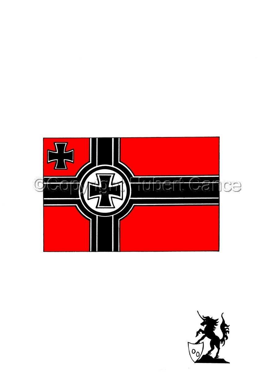 Sticker: Kriegsmarine flag (large view)