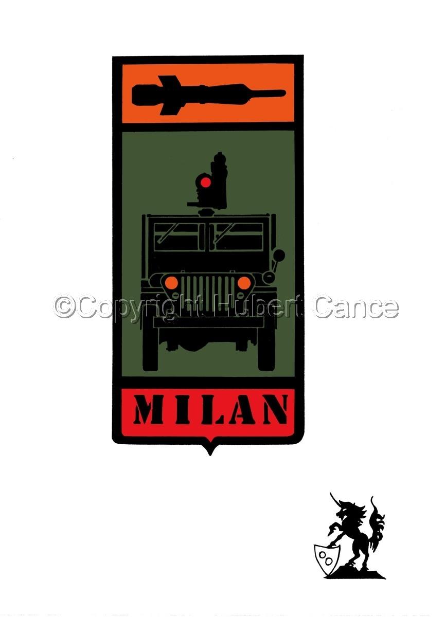 "Sticker: Jeep ""Milan"" patch (large view)"