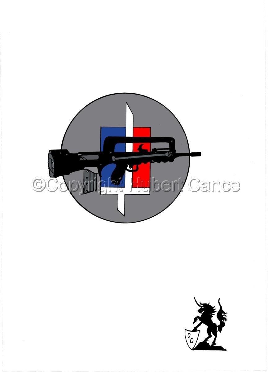 Sticker: FAMAS (large view)