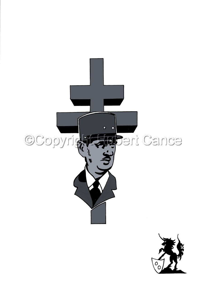 Sticker: Charles de Gaulle (large view)