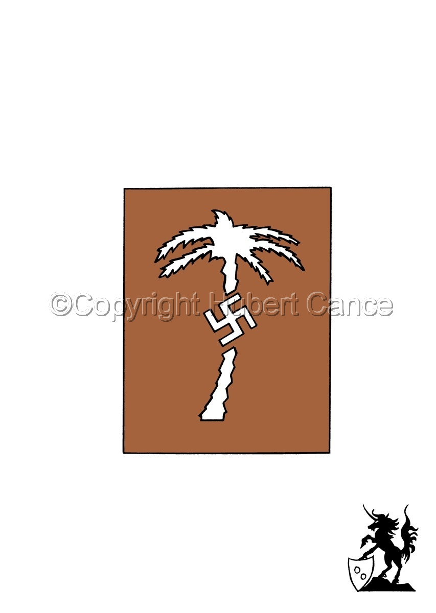 Sticker: Afrika Korps insignia. (large view)