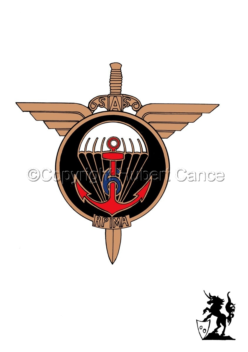 Sticker: 6eme RPIMa Insignia. (large view)
