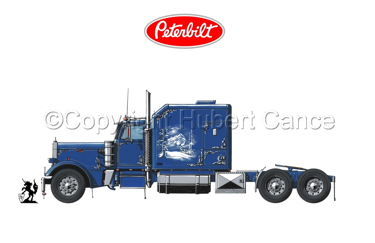 Peterbilt Tractor (Logo #1.1) (large view)