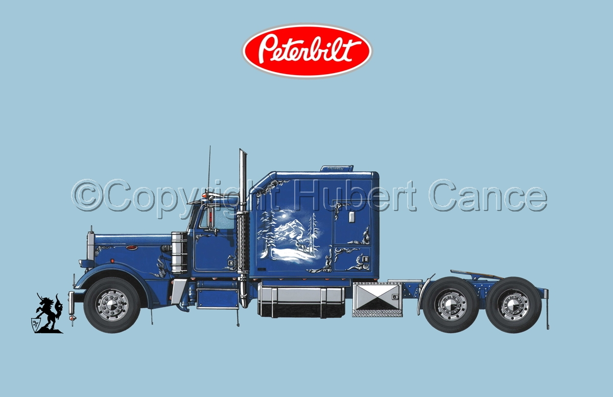 Peterbilt Tractor (Logo #1.2) (large view)