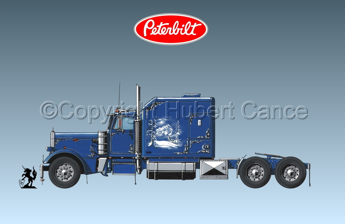Peterbilt Tractor (Logo #1.3) (large view)