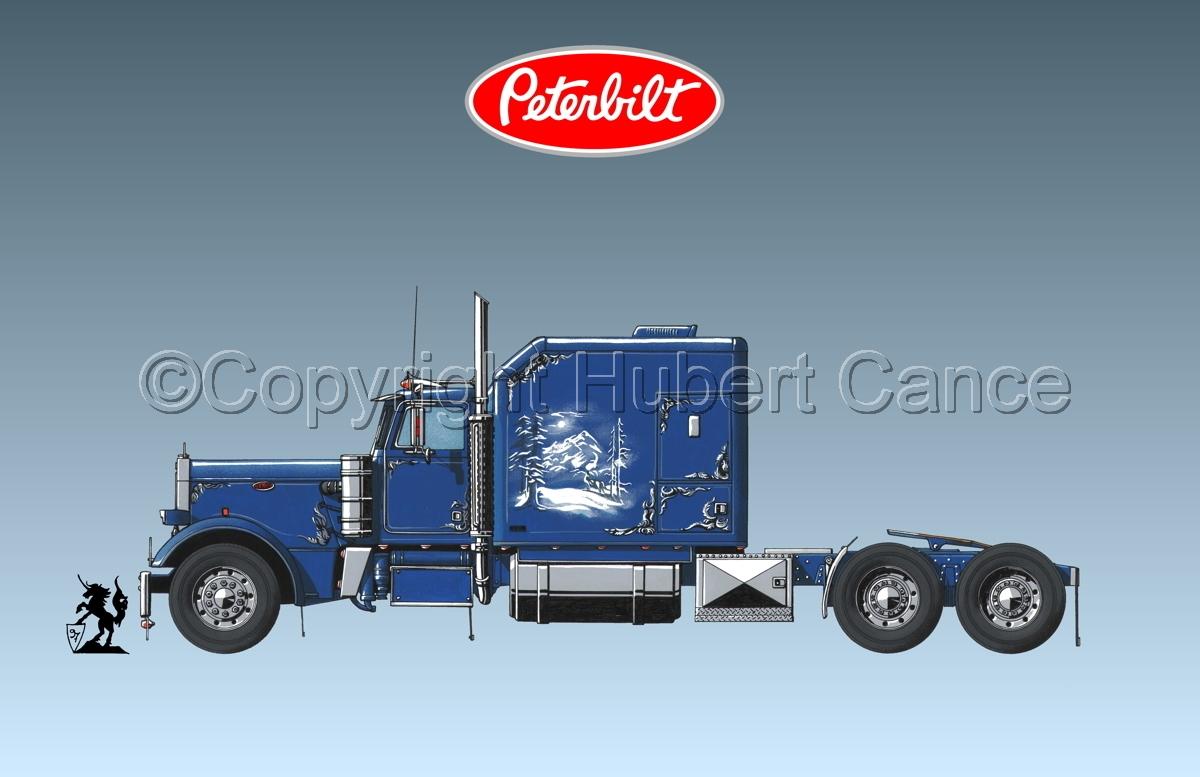 Peterbilt Tractor (Logo #1.3) (large view)