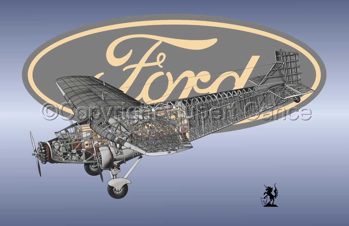 "Ford 5-AT-B ""Trimotor"" (Logo #4) (large view)"