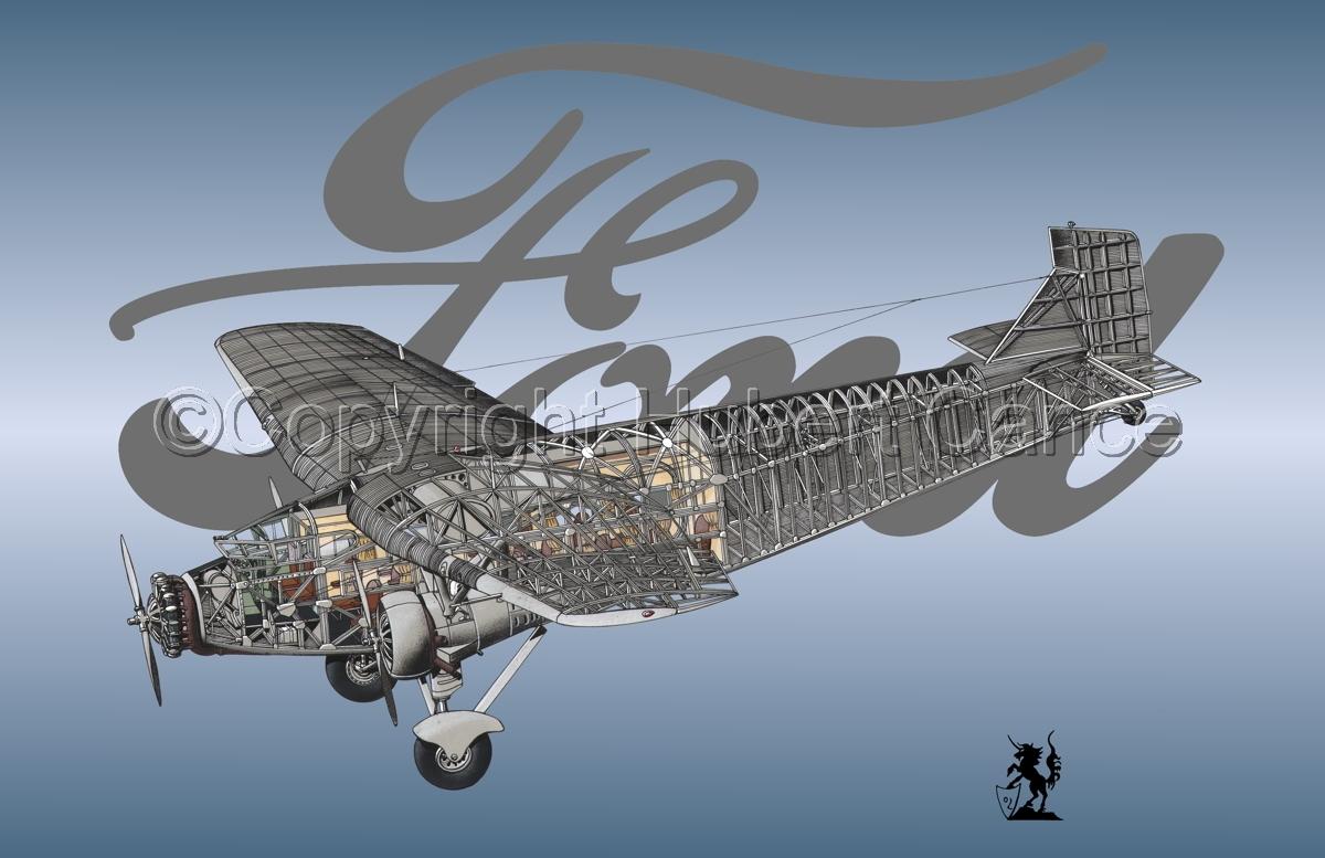 "Ford 5-AT-B ""Trimotor"" (Logo #3) (large view)"