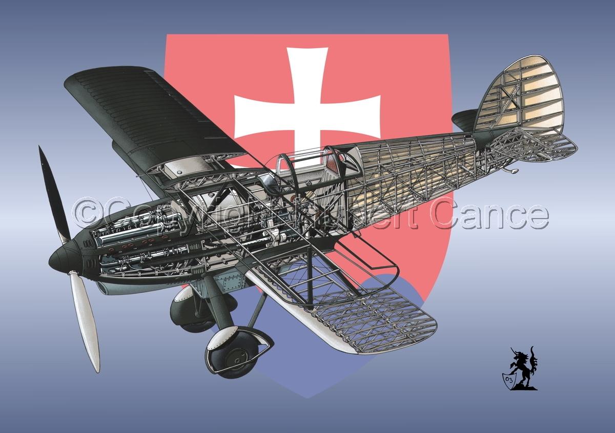 Avia B-534N (Insignia #11) (large view)