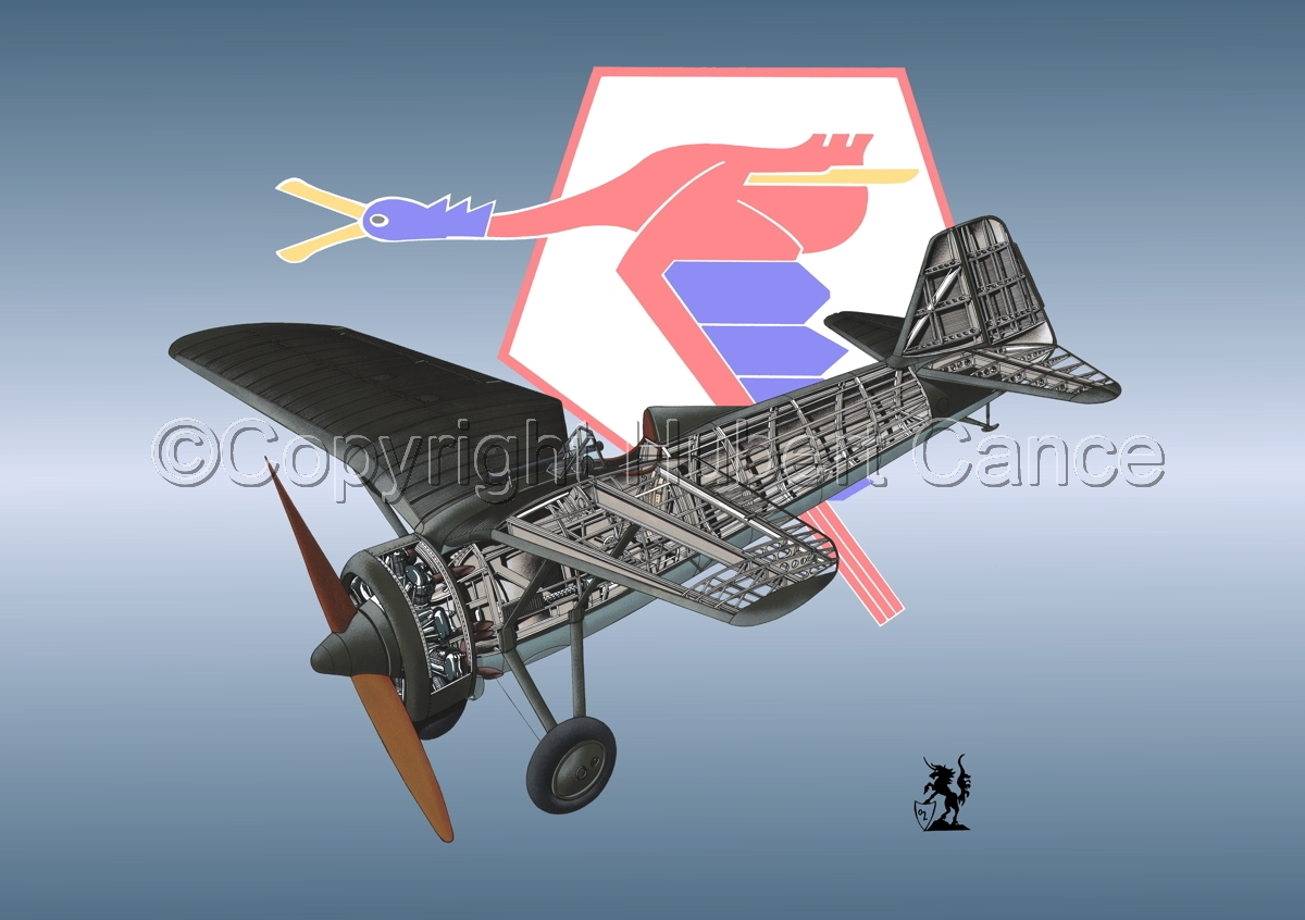 PZL P.7a (Insignia #19) (large view)