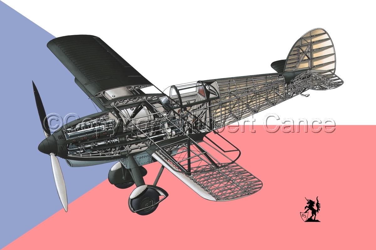 Avia B-534N (Flag #1) (large view)