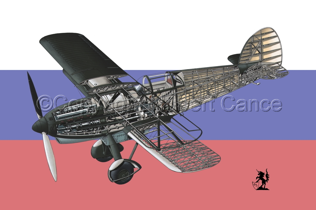 Avia B-534N (Flag #2) (large view)